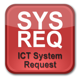 system request icon
